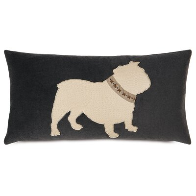 Pets Bulldog Lumbar Pillow
