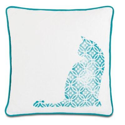 Wild Things Curious Cat Throw Pillow