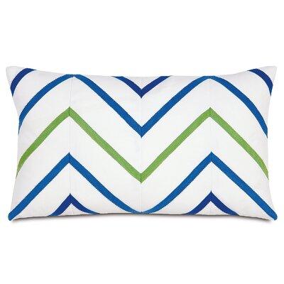 Outdoor Lumbar Pillow Color: Blue