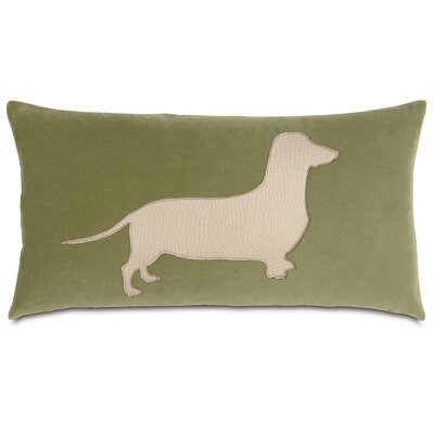 Pets Dachshund in the Grass Lumbar Pillow