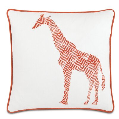 Wild Things Genteel Giraffe Throw Pillow