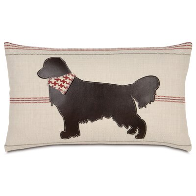 Pets Retriever Lumbar Pillow