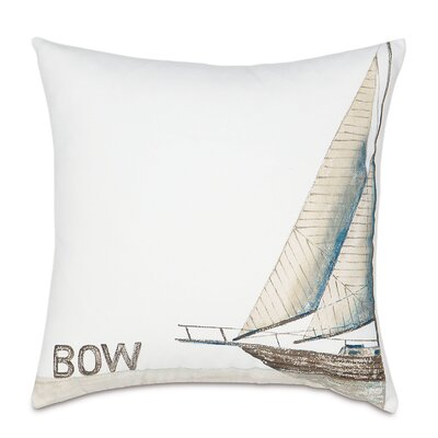 Outdoor Ship Bow Throw Pillow