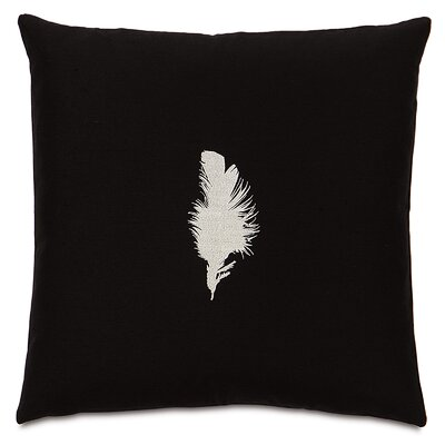 Traditional Tuxedo Feather Throw Pillow