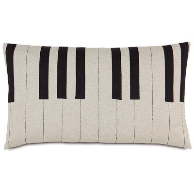 Music Tickle the Ivories Lumbar Pillow