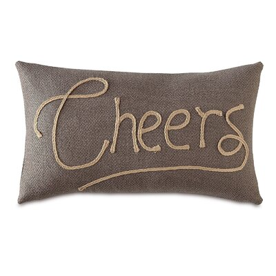 Man Cave Cheers Lumbar Pillow