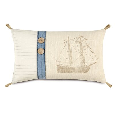 Nautical About Ship Lumbar Pillow