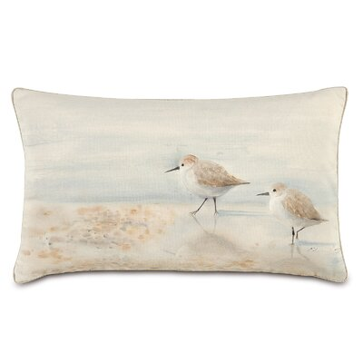 Nautical Sand Pipers Lumbar Pillow