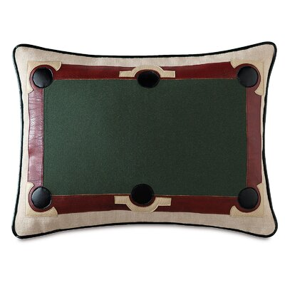 Man Cave Game Ball Lumbar Pillow
