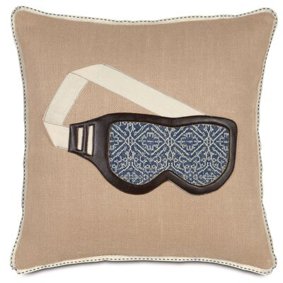 Ski Lodge Wear Your Shades Throw Pillow