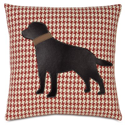 Pets Lab on Bowline Throw Pillow