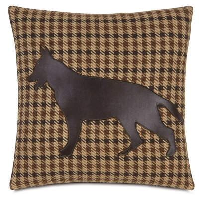 Pets German Shepherd Gait Throw Pillow
