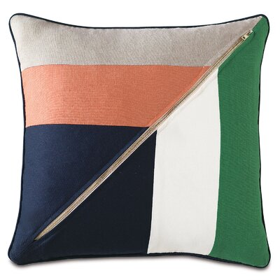Preppy Noroton Throw Pillow