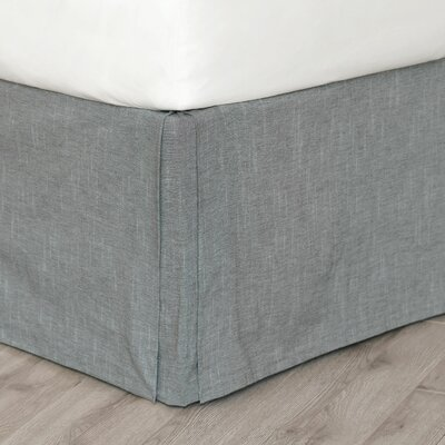 Hampshire Duvall Slate Bed Skirt Size: Queen