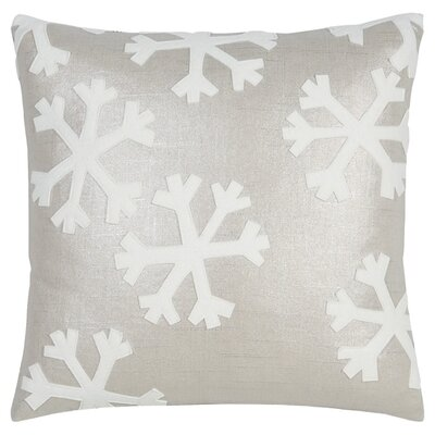 Tinsel Town Falling Snow Throw Pillow