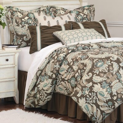 Kira Comforter Size: Super Queen, Finish Type: Hand-Tacked