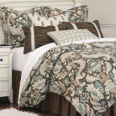 Kira Button-Tufted Comforter Size: Queen