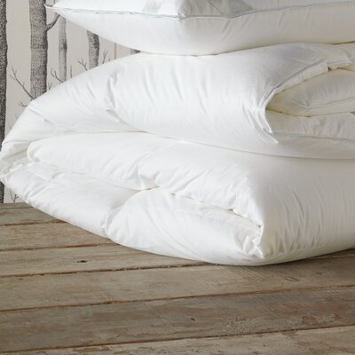 Celesta Luxe Medium Weight Down Comforter Size: King