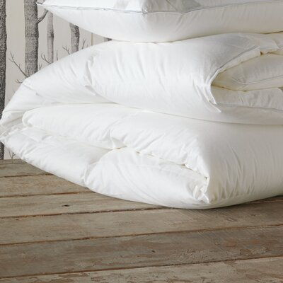 Celesta Luxe Heavyweight Down Comforter Size: King