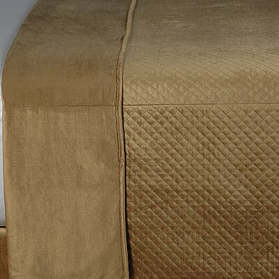 Toulon Reuss Gold Coverlet Size: Twin