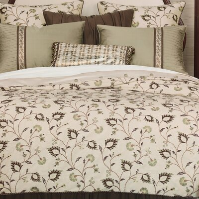Michon Polyester Comforter Size: Super Queen, Finish Type: Button-Tufted