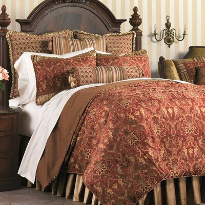 Toulon Comforter Size: Super King, Finish Type: Button-Tufted