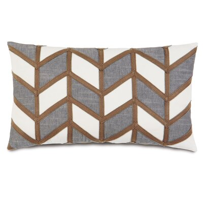 Epic Stone Broken Chevron Stone Down Throw Pillow
