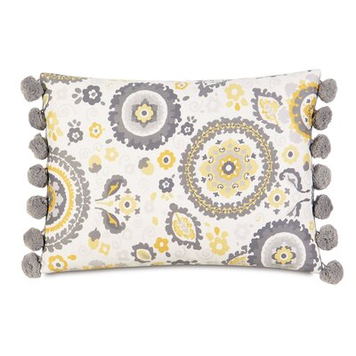 Epic Sunshine Ball Trim Lumbar Pillow