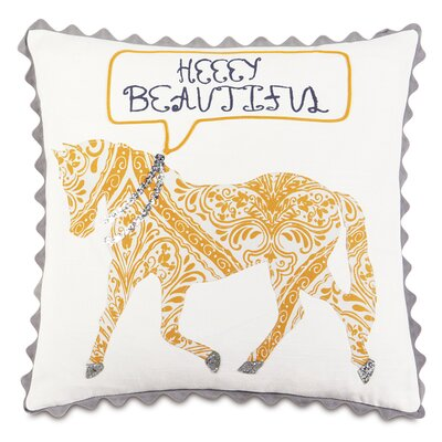 Epic Sunshine Heeey Beautiful Throw Pillow
