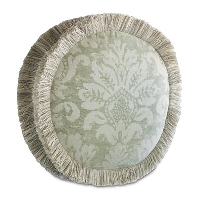 Lourde Celadon Tambourine Down Throw Pillow