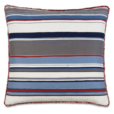 Epic Harbor Brush Fringe Down Throw Pillow