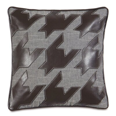Epic Stone Duvall Slate Houndstooth Down Throw Pillow