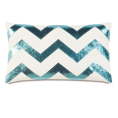 Epic Splash Sparkle Chevron Lumbar Pillow