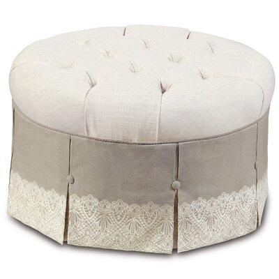 Sabelle Ledge Round Ottoman