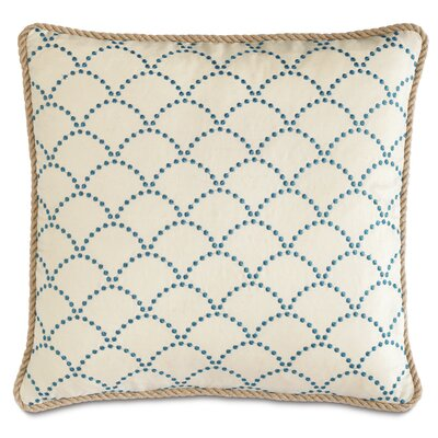 Badu Brooklyn Lapis Cord Down Throw Pillow