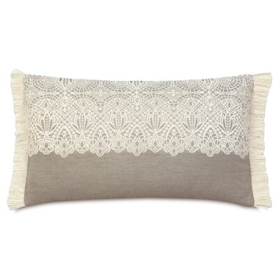 Sabelle Thayer Brush Fringe Lumbar Pillow