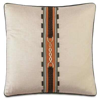 Equestrian Braided Mane Throw Pillow