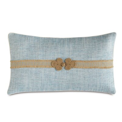 Badu Draper Lake Border Lumbar Pillow