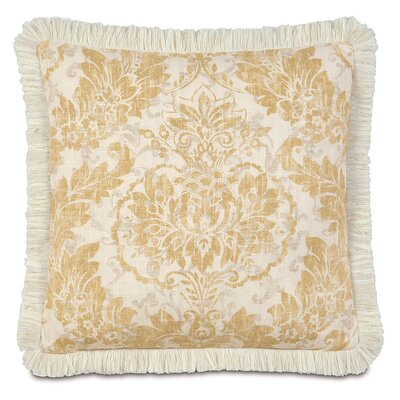 Sabelle Brush Fringe Down Throw Pillow Size: 27 H x 27 W