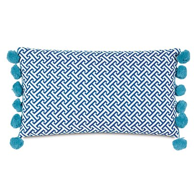 Epic Preppy Chive Bolster Lumbar Pillow