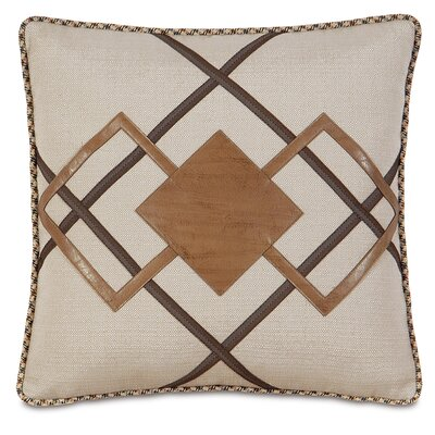 Aiden Dorian Saddle Diamond Down Throw Pillow