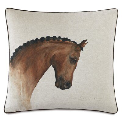 Equestrian Physique Throw Pillow