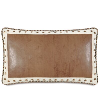 Aiden Dorian Saddle Border Down Throw Pillow