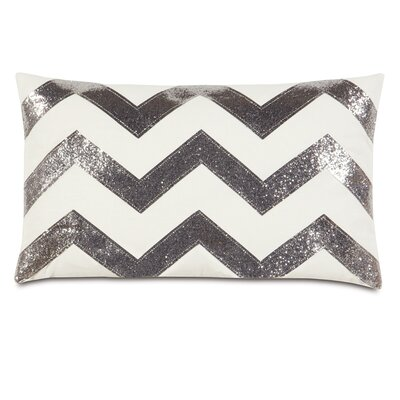 Epic Sunshine Sparkle Chevron Lumbar Pillow