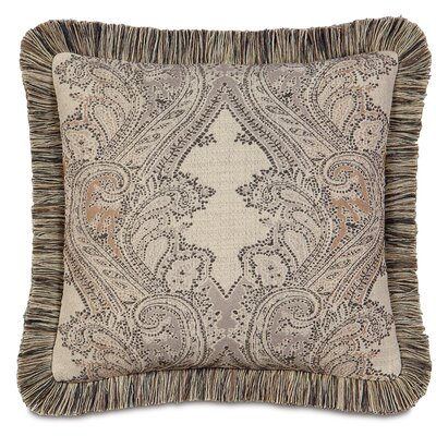 Aiden Brush Fringe Down Throw Pillow