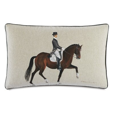 Equestrian Gait Throw Pillow