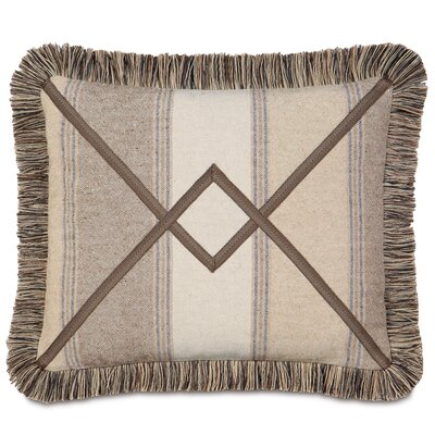 Aiden Ashbrooke Brush Fringe Down Throw Pillow
