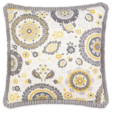 Epic Sunshine Kennedy Sunshine Pleated Ribbon Throw Pillow