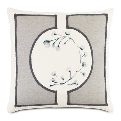 Modern Asian Bonsai Throw Pillow