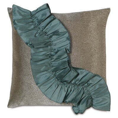 Monet Dunaway Ruffle Throw Pillow